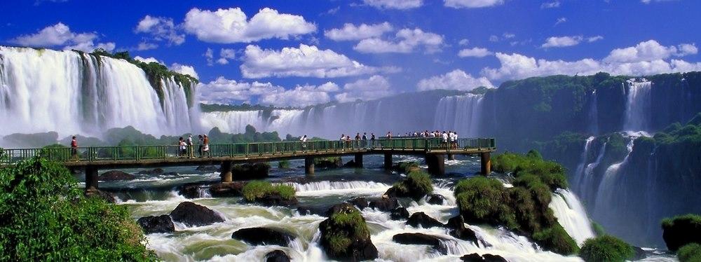 Бразилия - Водопады