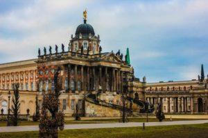 Германия, Потсдам, дворец Сан-Суси