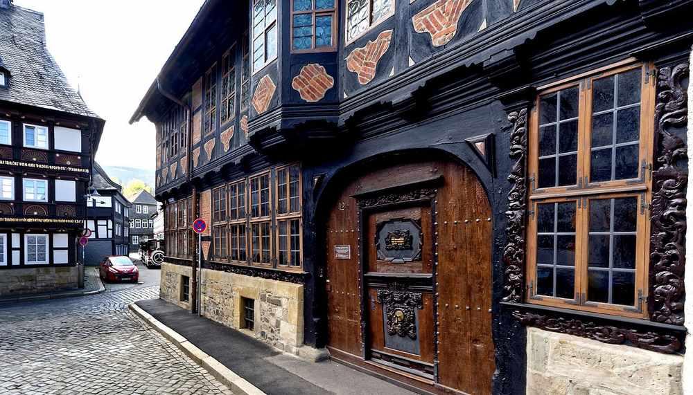 Гослар - Старый город .