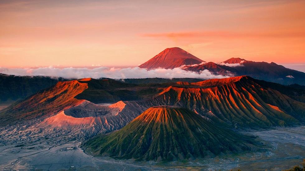 Индонезия, остров Ява, вулканы