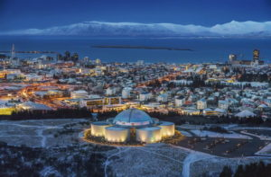Исландия, Рейкьявик, архитектурный комплекс Перлан