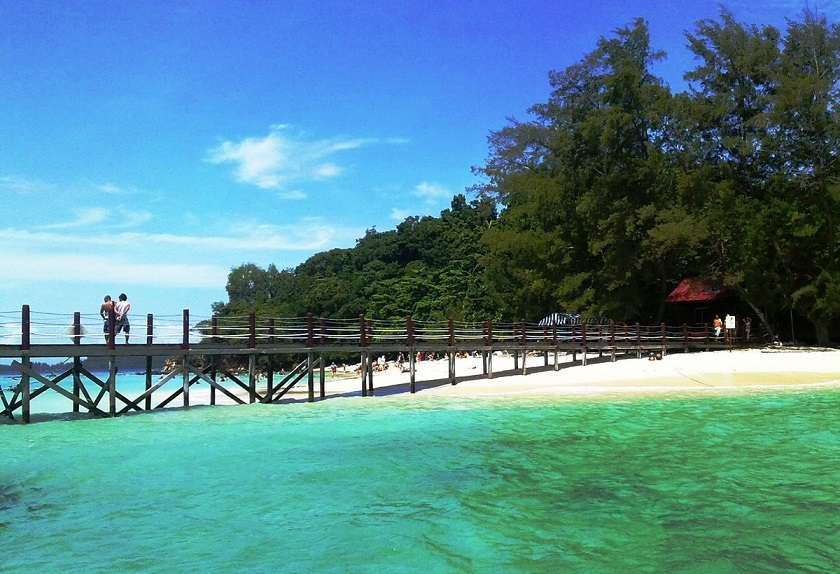 Малайзия, остров Манукан