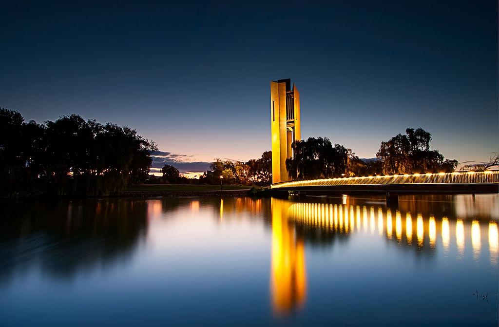 Австралия, Канберра озеро