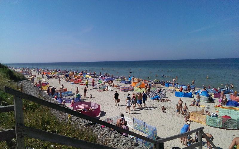 Польша, детский лагерь Феникс,пляж