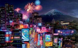 Япония, Токио, небоскребы