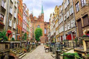 Польша, Гданьск, старый город