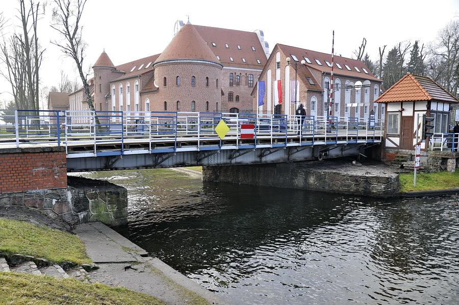 Польша, Гижицко, Вращающийся мост