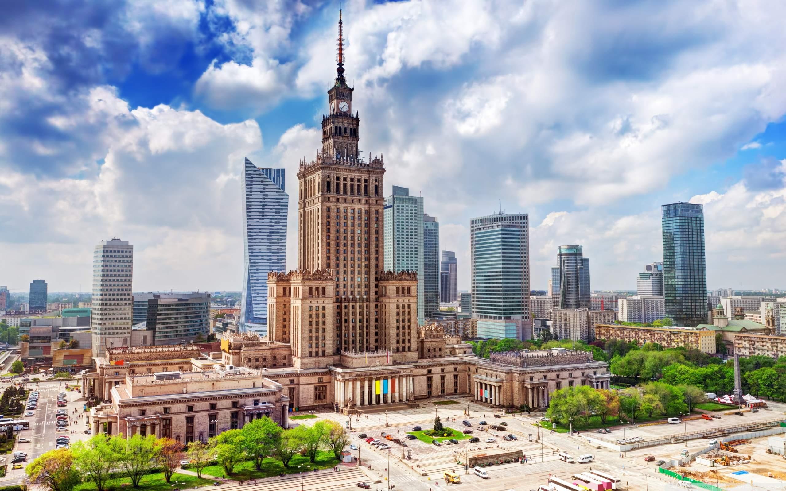 Польша, Варшава, Дворец культуры и науки