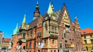 Польша, Вроцлав, городская Ратуша