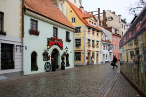 Старый город, Рига, Латвия