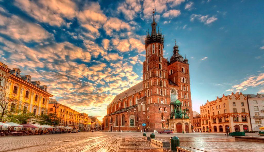 Польша, Краков, Мариацкий костёл
