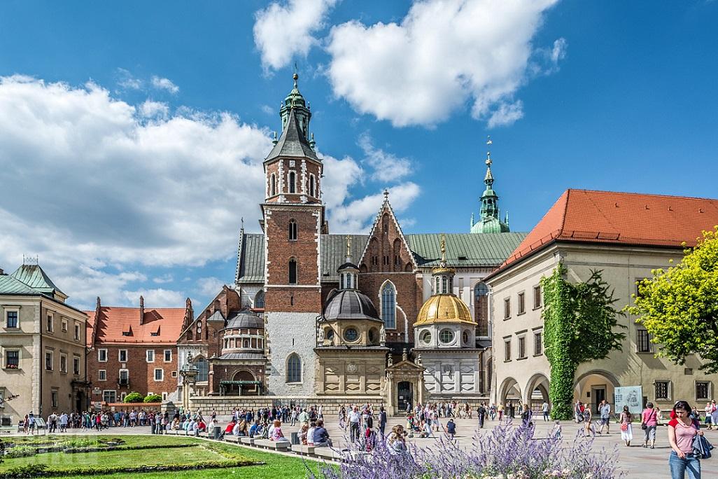 Польша, Краков, Вавельский замок