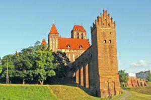 Польша, Квидзын, замок Тевтонского ордена
