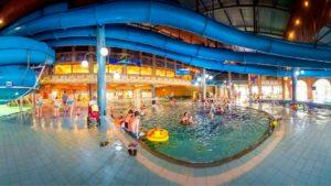 Польша, Миколайки,аквапарк Тропикана в отеле Голембиевски