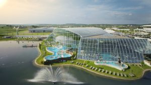 Польша, парк развлечений Park of Poland, аквапарк Suntago Water World