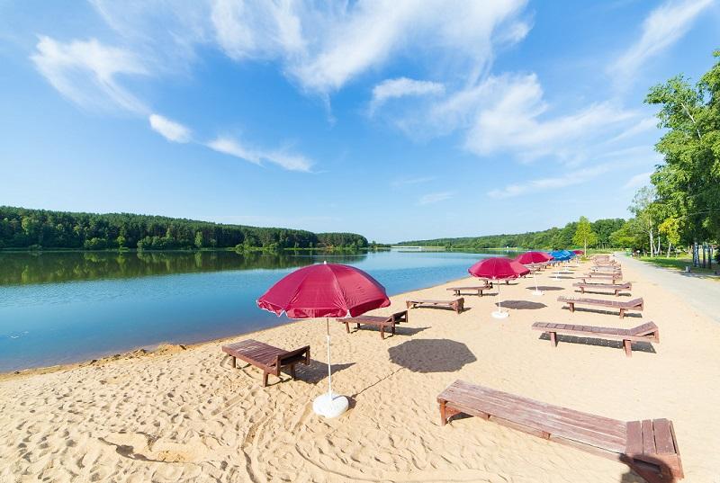 Белоруссия, Санаторий Белорусочка, пляж