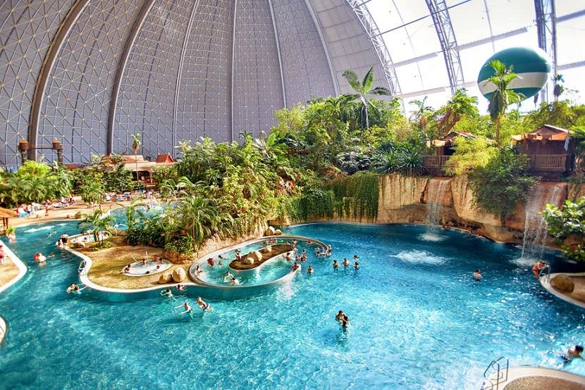 Германия, аквапарк Тропические острова