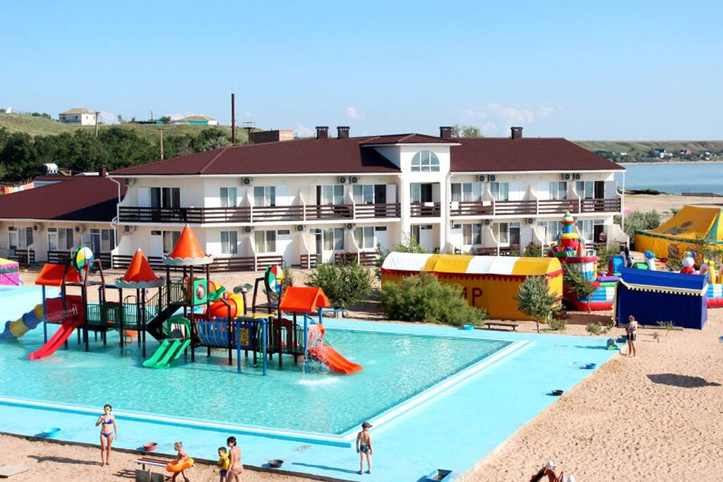 АзовЛенд Семейный отель бронирование
