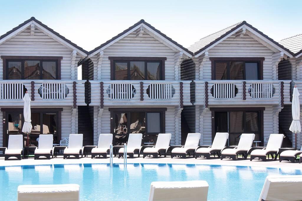 Белый Пляж отель бронирование
