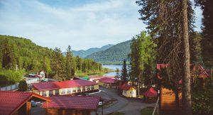 Горное Озеро, туристический комплекс бронирование