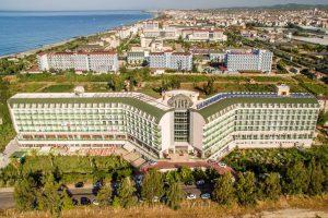 Hedef Beach Resort Hotel бронирование