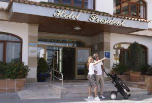 HSM President Hotel бронирование