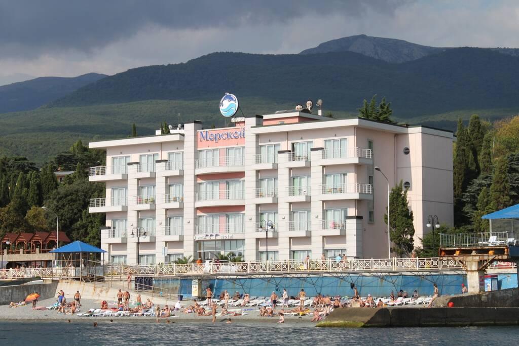 Морской отель (КРК Миндальная роща) бронирование