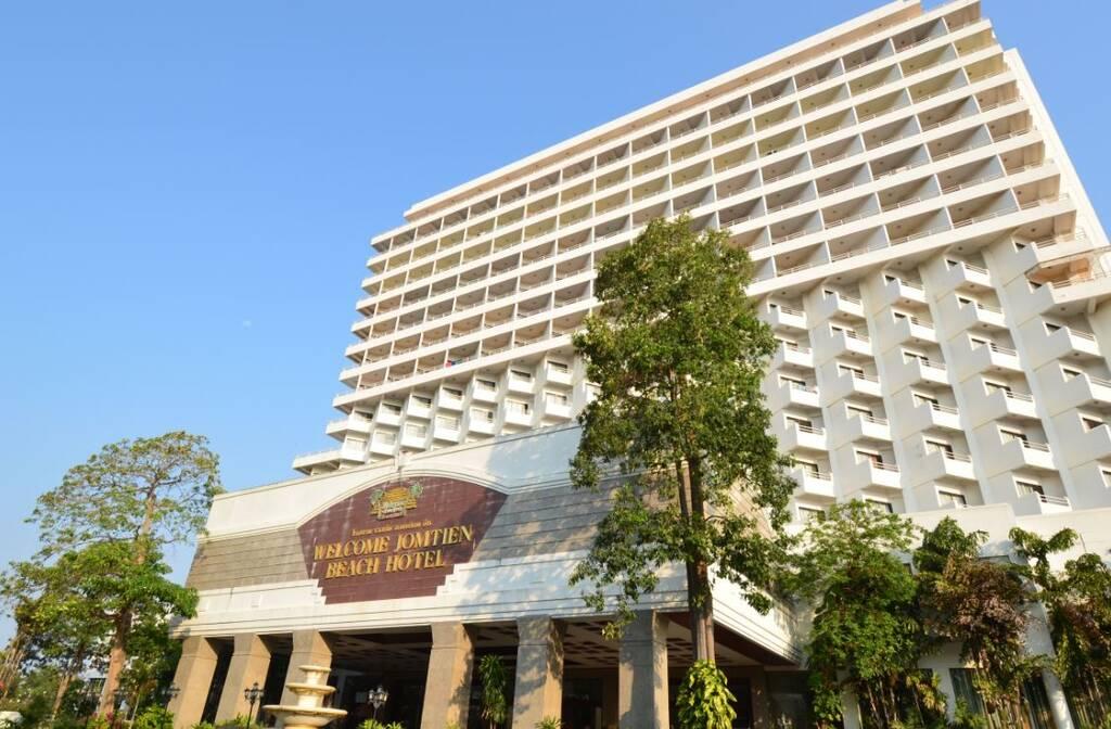 Welcome Jomtien Beach Hotel бронирование