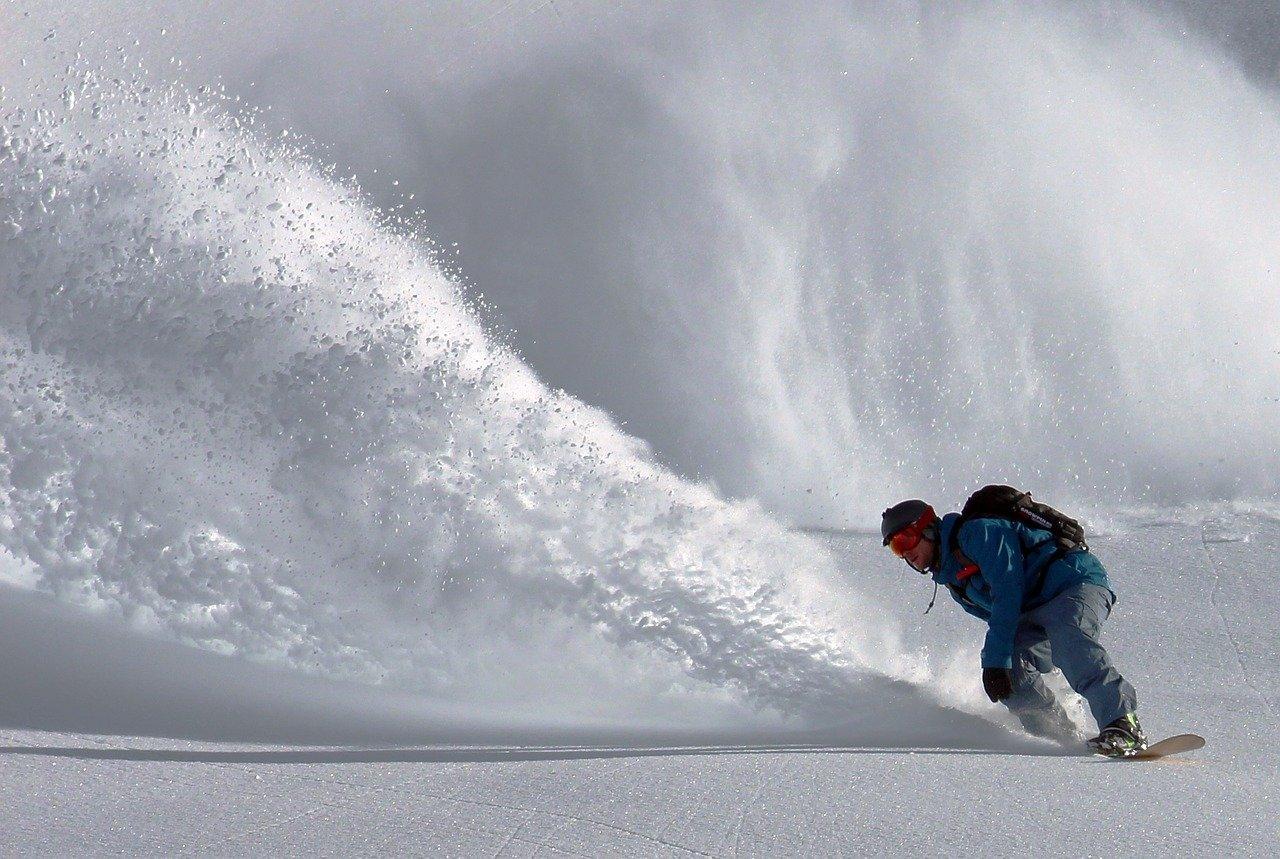 сноуборд фон
