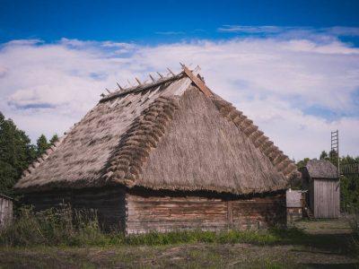 Польша, Беловежа, музей деревянного зодчества