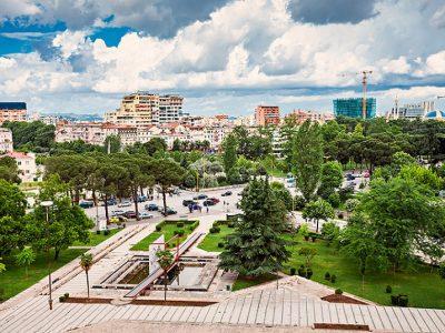 албания тирана г