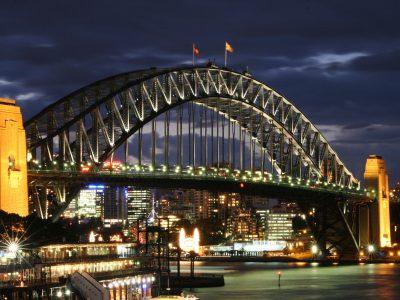 Австралия, Сидней, Мост Харбор-Бридж