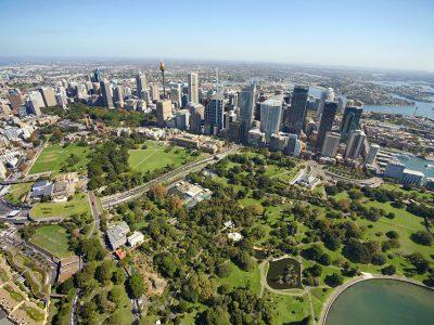 Австралия, Сидней, вид верху