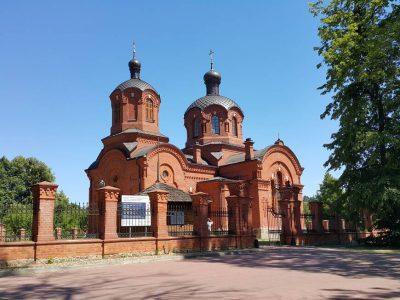 Польша, Беловежа, Церковь Николая Чудотворца