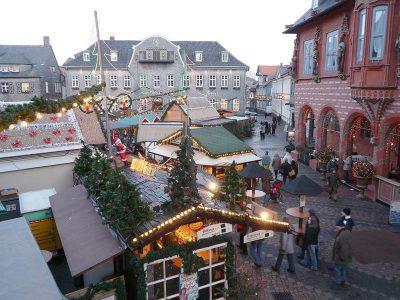Гослар - Рождественский рынок, Германия