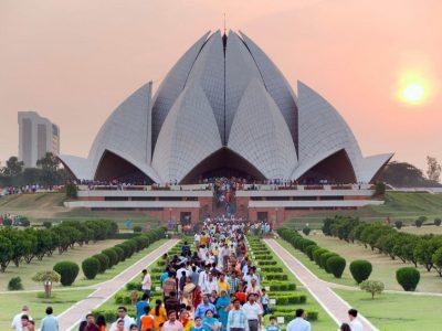 Индия, Дели, Храм лотоса