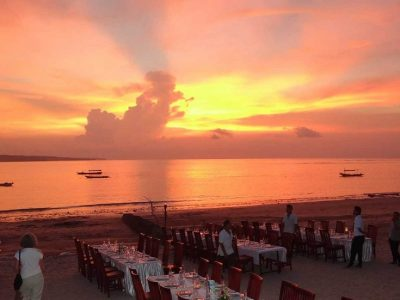 Индонезия, Бали, Джимбаран, закат