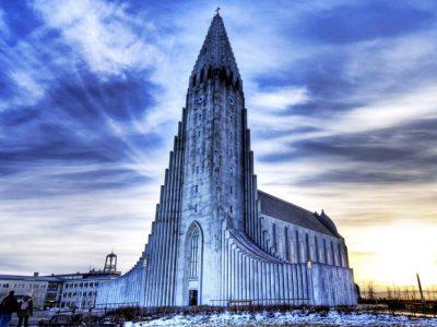 Исландия, Рейкьявик, собор Халлгримскирья