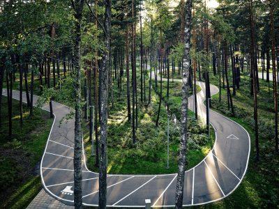 Лесной парк «Дзинтари», Юрмала, Латвия