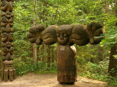 Литва, гора ведьм