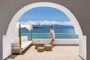 Minos Beach Art Hotel бронирование