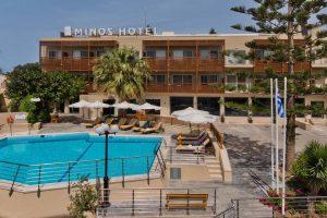 Minos Hotel бронирование