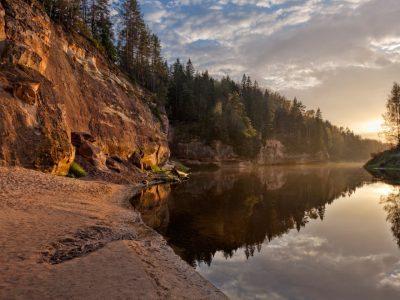 Национальный парк Гауя, Сигулда, Латвия