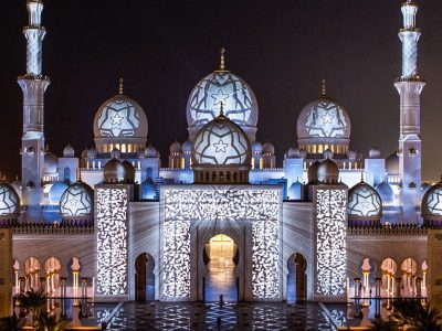 ОАЭ, Абу-Даби, Мечеть шейха Зайда