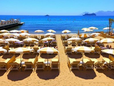 Канны - пляж