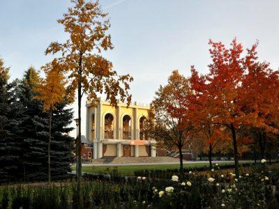 Польша, архитектурно-парковый комплекс Лихень-Стары