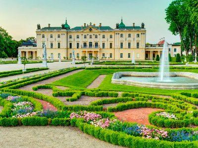 Польша Белосток, дворец Браницких