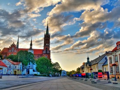Польша, Белосток, площадь Рынок Тадеуша Костюшки