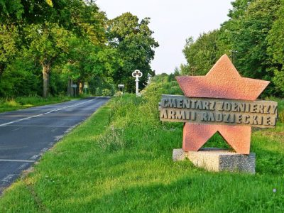Польша, Бранево, военное кладбище