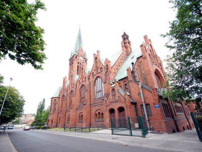 Польша, Быдгощ, костел Анджея Боболи